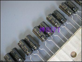 2020 hot sale 20PCS/50PCS ELNA Original RA2 Black Gold  Electrolytic Capacitor 16V47uf 5x11 free shipping 2020 hot sale 20pcs 50pcs electrolytic capacitor nichicon original vz electrolytic capacitor 63v220uf 10x16 free shipping