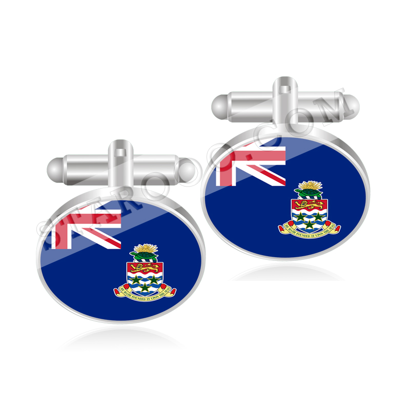 Cape Verde Flag Cufflinks