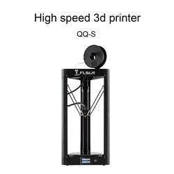 2019 FLSUN QQ-S 3d printer Large Printing Size 260x370mm Delta Kossel Auto-leveling 3D-Printer Touch Screen with Wifi