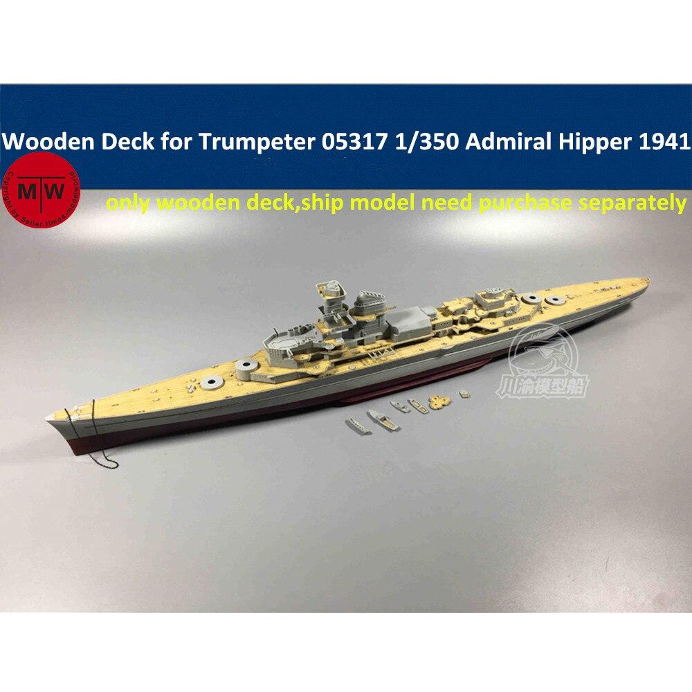 Trumpeter 1//350 05317 German Heavy Cruiser Admiral Hipper 1941