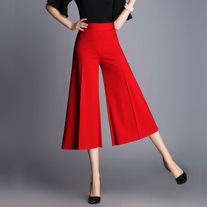 Aliexpresscom  Buy Brand Womens Wide Leg Crop Pants Summer Fashion -3294