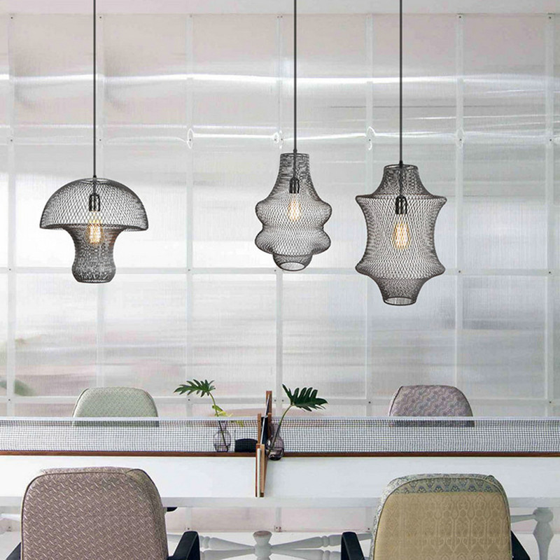 Retro Creative Kitchen Dining room Led Pendant Lights Industrial Style Loft Deco Foyer Bedroom Bar Hanging Lamp Nordic LuminaireRetro Creative Kitchen Dining room Led Pendant Lights Industrial Style Loft Deco Foyer Bedroom Bar Hanging Lamp Nordic Luminaire