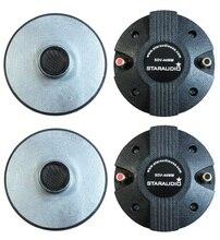 """STARAUDIO SDV-44MM 4 Pcs 2400 W 44 MM de Compressão de Titânio 1.75 """"Screw-On Chifre Driver Speaker Tweeters"""
