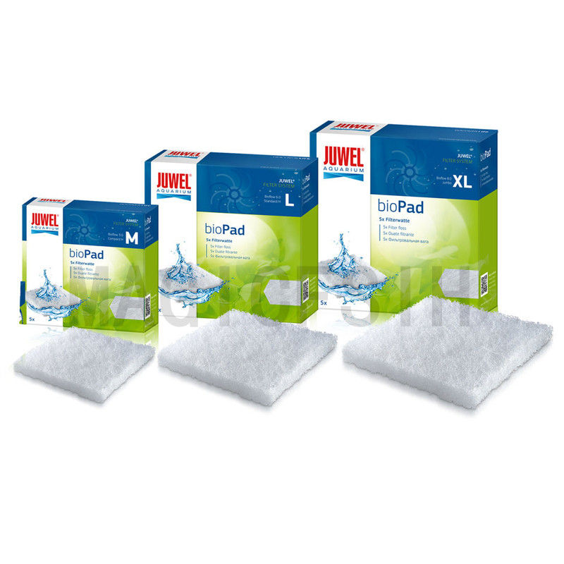Juwel BioPad - Poly Pad White Fish Tank Filter Cotton. Cashmere Cotton Bioflow 3.0 6.0 8.0 Aquarium Filter
