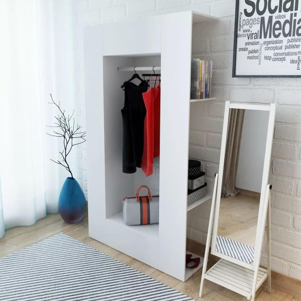 Wardrobe Chipboard Modern Clothes Wardrobes Cabinet Large Storage Space Home Bedroom Wardrobe Furniture Dustproof High Quality