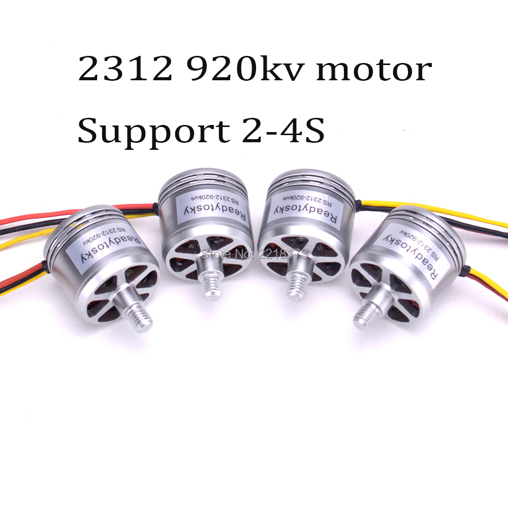 4pcs readytosky New version 2312 920KV Brushless Motor CW CCW 2-4S for X500 Quadcopter 4set lot original emax mt2216 810kv plus thread brushless motor 2 cw 2 ccw for multirotor quadcopters with 1045 propeller