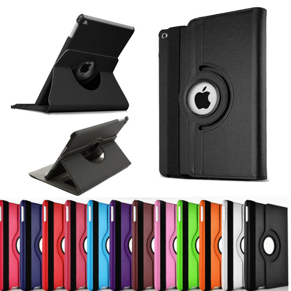 360 Rotation 9.7'' Tablet Coque for iPad 2 iPad 3 iPad 4 360 Flip Cover PU Magnetic Auto-Sleep Cover for ipad 2 3 4 360 Cover (10)