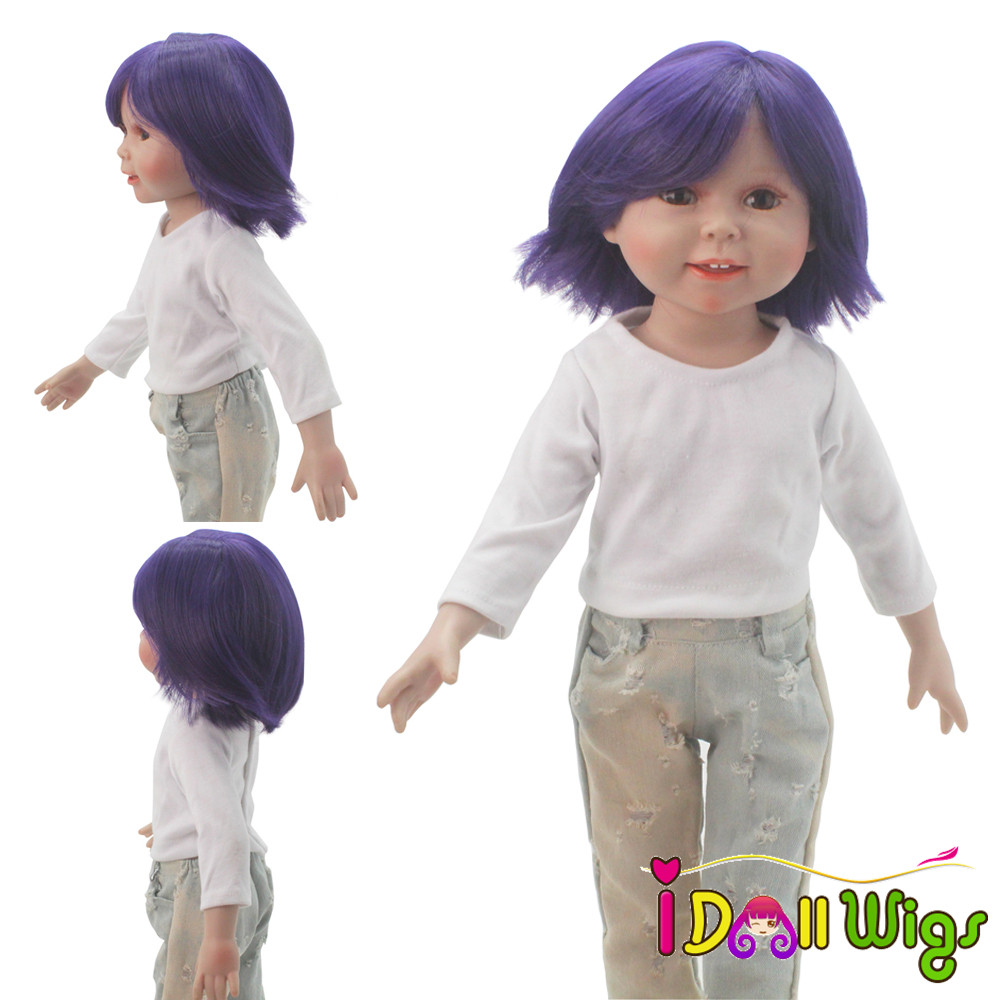 25 26cm Head Circumference Doll Wigs High Temperature ...
