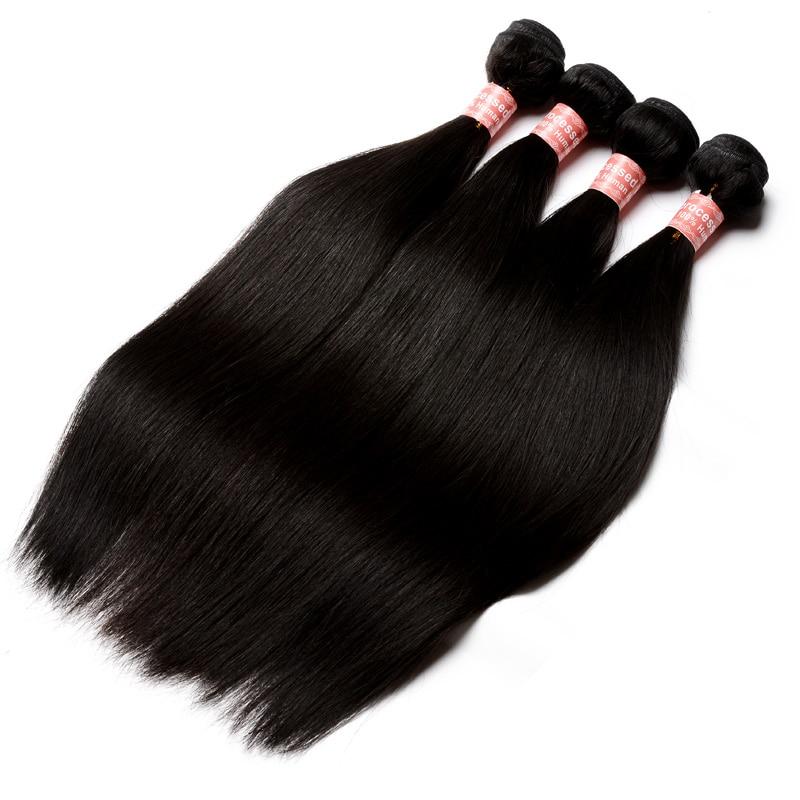 Barangan Rambut Brazil Lurus Rambut Lurus Berus Rambut Tawaran Produk - Rambut manusia (untuk hitam) - Foto 2