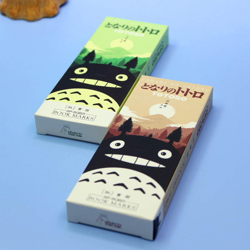 Cute Cartoon My Neighbor Totoro Paper Bookmark Kawaii School Office Reading Book Marks Stationery Gifts
