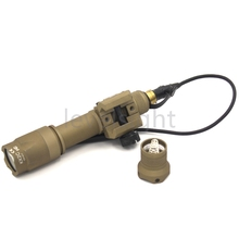 Tactical Arrival  M600 Weapon Light Multifunction White LED Rail Mounted Flashlight