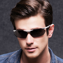 Men polarized sunglasses men hd night vision driving glasses sport oval goggles oculos de sol feminino