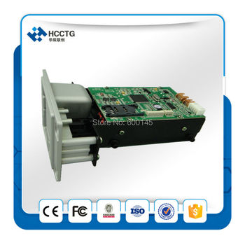 Series Manual Insert Card Reader for ATM and Auto Vending Machine With free SDK for magnetic +RFID+IC card ---HCRT288K
