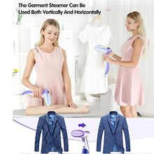 Garment Steamer Handheld Mini Portable Clothes Steamer for Travel and Home 240ml Fast Heat-up Ironing Ferro Da Stiro Vaporera