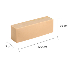 Image 2 - סיליקון סבון עובש גבוה ורזה כיכר עובש עם עץ תיבת DIY בעבודת יד סבון ביצוע כלי