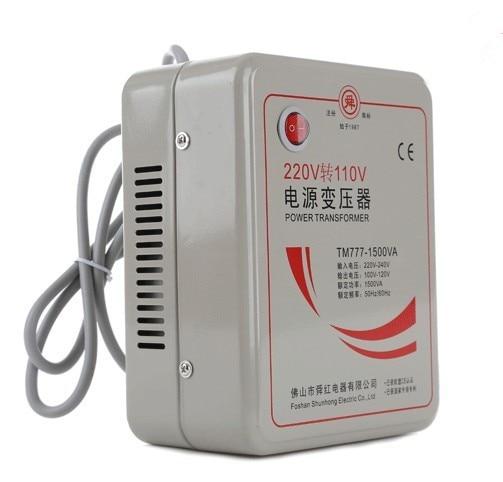 110V to 220V  or 220V to 110V Transformer 1500W Power Converter household appliances transformers Voltage Converter 50w 220v to 110v power transformer