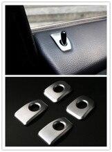 Автомобиля Styling! ABS Матовый Интерьер замка двери Шпильки Накладка для BMW X5 F15 2014 2015