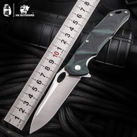 HX OUTDOORS Folding Newest Steel Fixed Blade Knife Outdoor Tactical Knife Survival Knives Tools EDC Camping