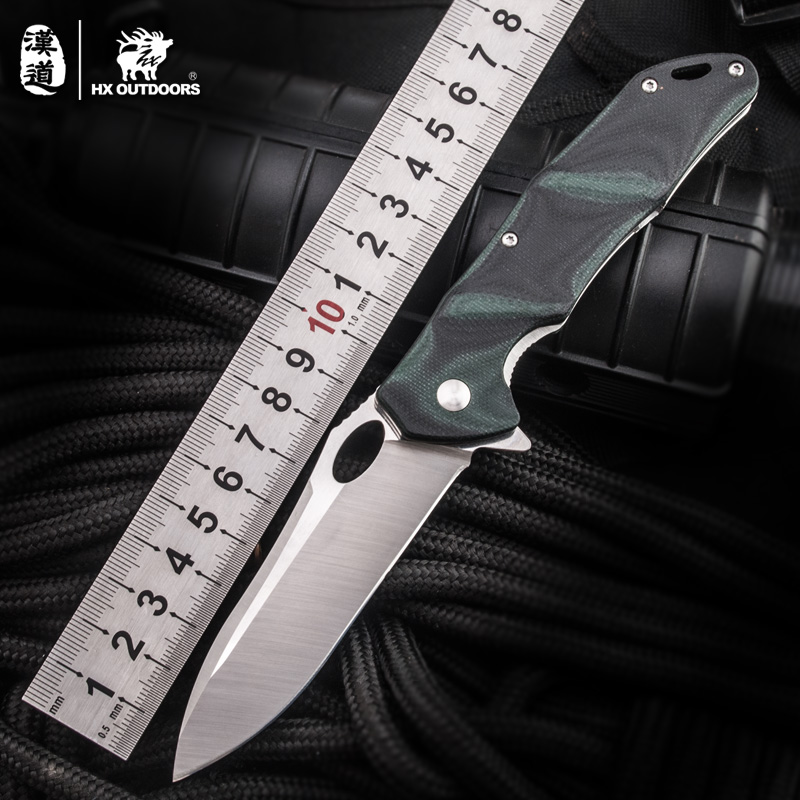 HX OUTDOORS Folding Newest Steel Fixed Blade Knife,Outdoor Tactical Knife,Survival Knives Tools,EDC camping high hardness knives hx outdoors survival knife aus 8 steel blade fixed blade knife straight camping hunting knives multi tactical hand tools edc