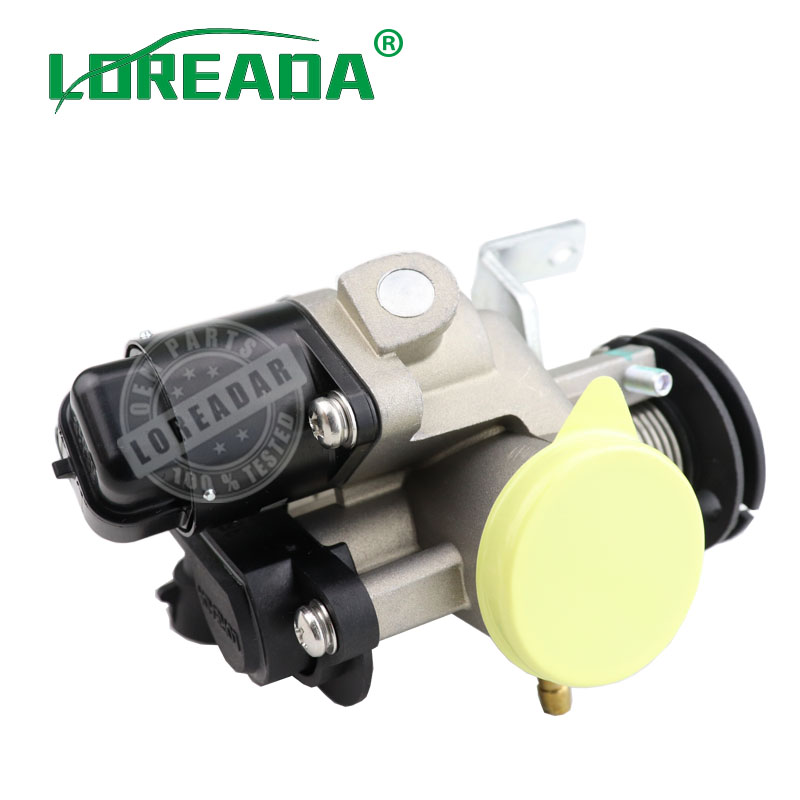 LOREADA Genuine Throttle Body assy For 150cc Motorcycles with Delphi TMAP OEM quality motorbike accessory Bore
