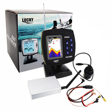 FF918-CWL LUCKY Color Display Boat Fish Finder Wireless Remote Control 300m/980ft Fishing Wireless Operating Range