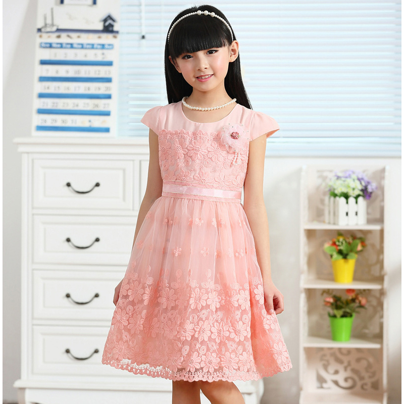 2018 Brand Vestidos Girls Summer Dress Sleeveless Teenage Party Pink Princess Dress Children Costume for Kids Pink Clothes 8-15T jialuowei new extreme 18cm 7 high heels fetish sexy ballet boots sex matt zip wedges leather over the knee thigh high boots