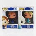 """Funko POP Princess Elsa Anna Action Figure Model Doll Kids Toys Birthday Gift For Girl 4""""10cm Christmas Gift"""