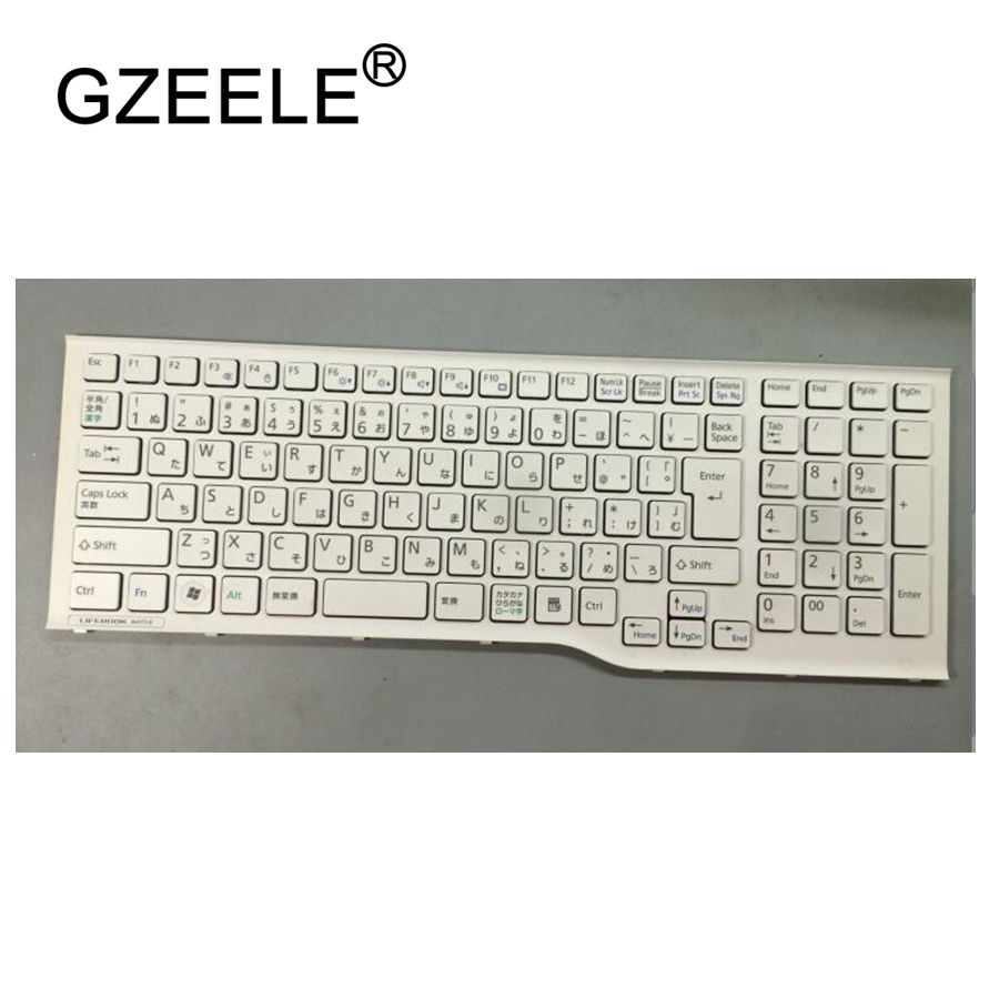 GZEELE NEW for Fujitsu AH541 AH771 AH77/H/E/G AH56/E AH54/G/E/H laptop keyboard new notebook laptop keyboard for fujitsu mh330 mh330r sp layout