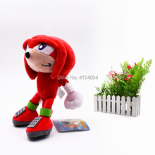20 pcs/lot Wholesale Toy Sonic Soft Plush Doll Red Sonic Cartoon Animal Stuffed Plush Toys Figure Dolls Gifts 20 cm цена