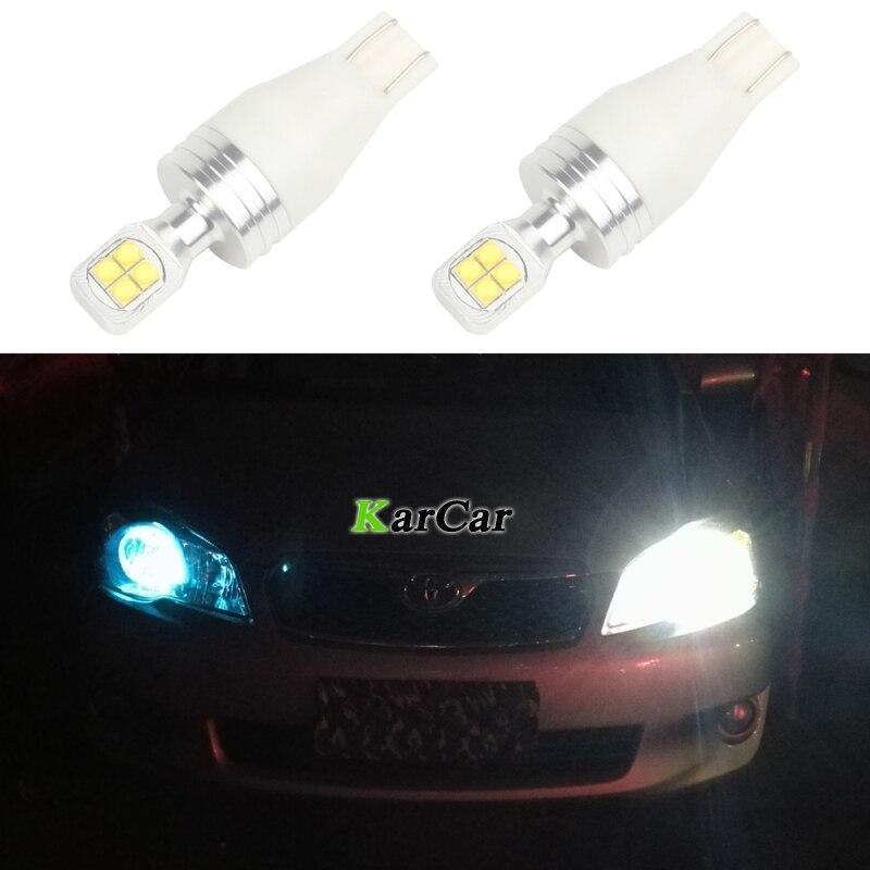 2 piezas brillante 390LM XBD 40W T15 LED Bombilla de cola de coche - Luces del coche - foto 1