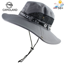 Sun-Hat Uv-Protection Fishing Hiking-Cap Wide-Brim Women Summer UPF50 Mesh Outdoor Breathable