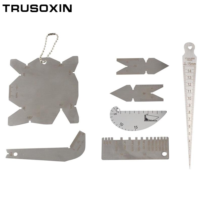 Four Piece Gage Welding Gauge Stainless Steel Key Pocket Gage RWP