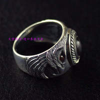Thailand imports, 925 Silver Eagle Mens Ring