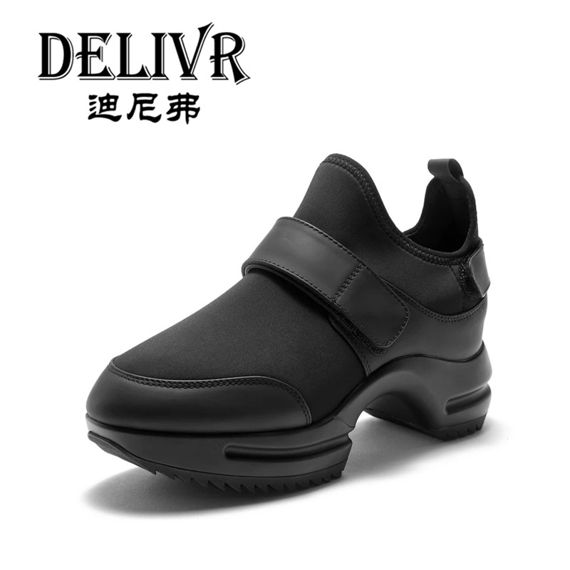 Delivr Plateforme Shoes Women 2019 Increase Within Street Fashion Womens Dad Shoes Black Casual Solid Vulcanized Shoes LadiesDelivr Plateforme Shoes Women 2019 Increase Within Street Fashion Womens Dad Shoes Black Casual Solid Vulcanized Shoes Ladies