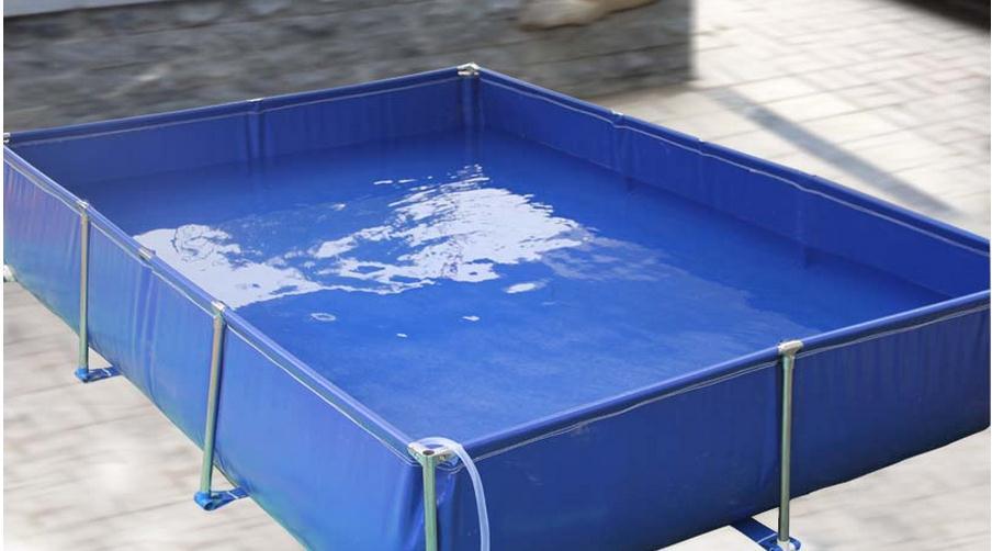 Personnalisez la piscine d'élevage de 3 m x 2 m x 0.8 m, la piscine. Faire des bâches de piscine, toile, bonne piscine imperméable à l'eau, personnalisée