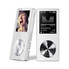 """NUEVO Altavoz MP4 1.8 """"8 GB MP4 Delgado Player Radio FM Reproductor De 128 GB Micro SD TF Tarjeta de reproductor de Música MP4 veces 200 horas M220"""