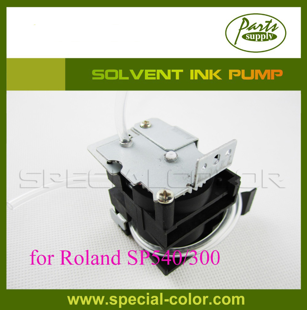 Eco solvent printing ink pump for Roland SP540/300 printer 300 400ml min 24v dc jyy brand big ink pump for solvent printer with free shipping cost by dhl