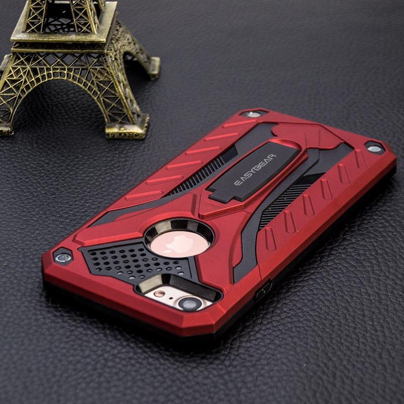 Anti-drop kasus untuk iphone 6 6S PC + TPU Mode Colorful Kasus - Aksesori dan suku cadang ponsel - Foto 3