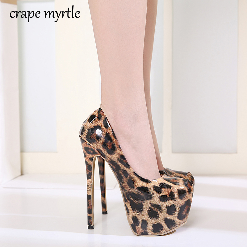 Drop shipping Leopard Patent Leather Grain Women Shoes Sexy High Heels 2019 Round Toe Party Women Pumps Weeding shoes YMA554Drop shipping Leopard Patent Leather Grain Women Shoes Sexy High Heels 2019 Round Toe Party Women Pumps Weeding shoes YMA554