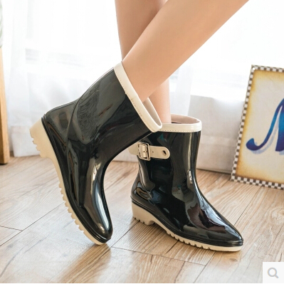 Korean Mid Heels Shoes