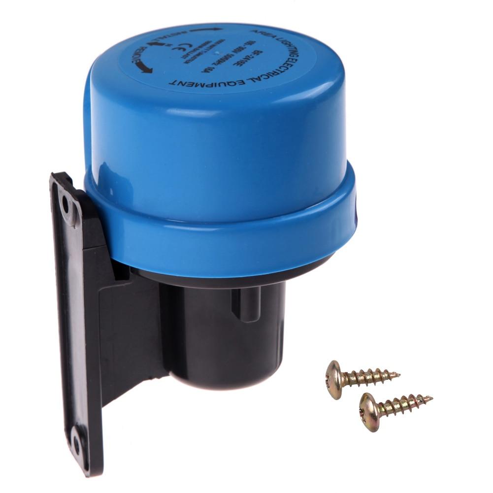 AC105-305V Light Sensor Switch Worldwide Photocell Timer Light Switch Daylight Dusk Till Dawn Auto Light Switch Energy Saving 22