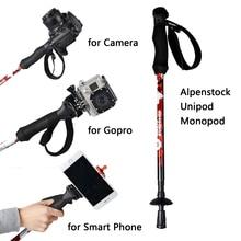Câmera Unipod monopé, Portátil profissional DSLR monopé para Canon Eos Nikon DSLR como Manfrotto OFF ROAD caminhadas varas