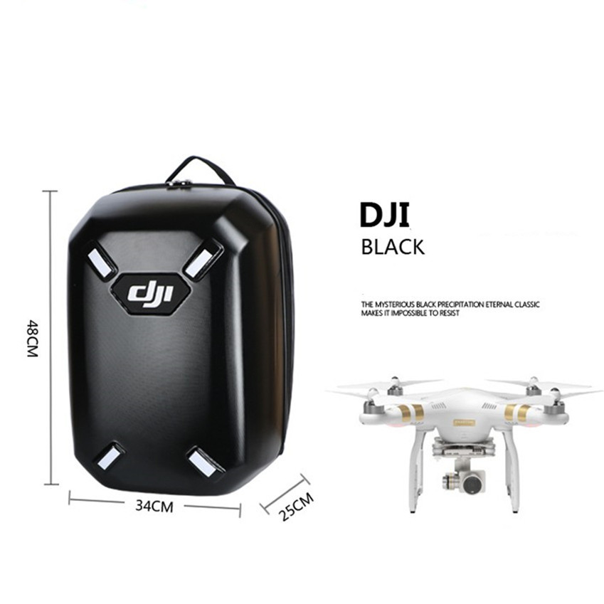 DJI Phantom 4 Pro v2.0 Hardshell Backpack for phantom 4 / 4 pro/Phantom 3 SE /Advanced /Standard RC Quadcopter camera drone professional aluminum box handbag carry case for dji phantom 4 pro phantom 4 phantom 3 standard phantom 3 pro