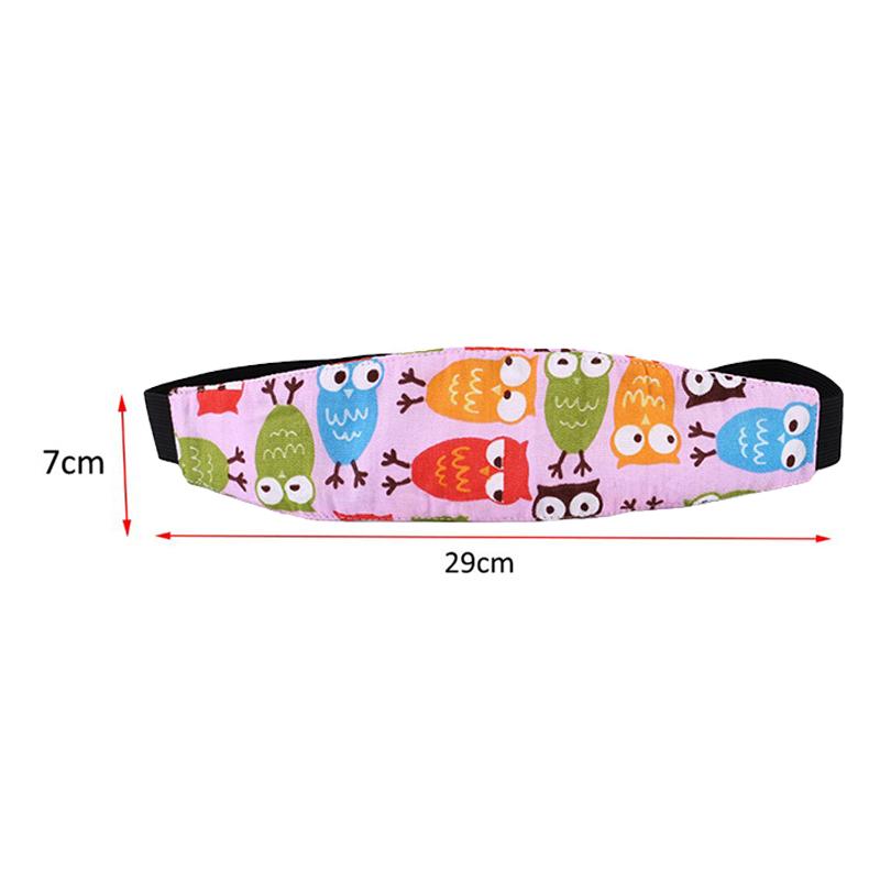 Neue Kind Auto Sicherheit Sitz Kopf Befestigung Hilfs Baumwolle Gürtel Kinderwagen Sichere Strap Dösen Band für Baby Kinderwagen Kind Sicherheit sitz
