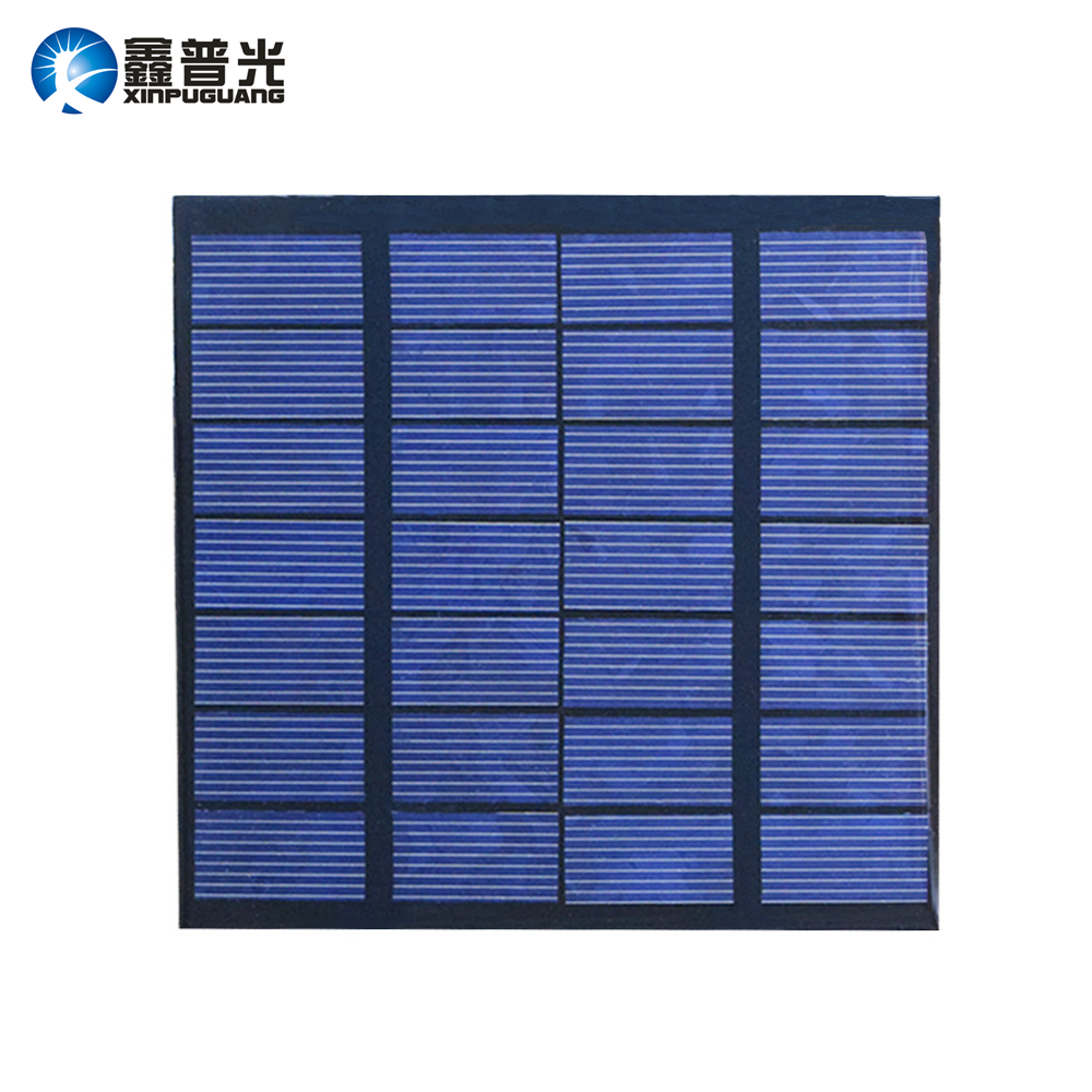 Xinpuguang 5pcs 1 5w 7v Solar Panel Pet Laminated
