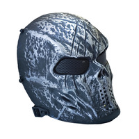 Camouflage Wargame Paintball Skull Mask Outdoor Army Full Face Airsoft Masks Halloween Party Cosplay Mask