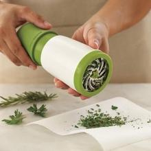 Herb Grinder Spice Mill Parsley Shredder Chopper Kitchen Accessories Herb Chopper Grater Cheese Grater Vegetable Tools