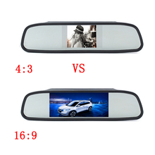 Car Rear View Mirror Monitor for Backup Camera