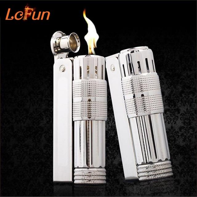 Original IMCO 6700 Metal Gasoline Kerosene lighter,Men's Cigarette Lighter Vintage Old Design