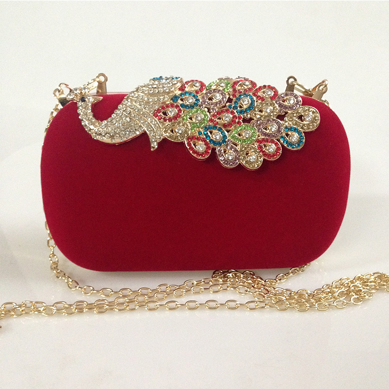 Popular Red Clutches Evening Bags-Buy Cheap Red Clutches Evening ...